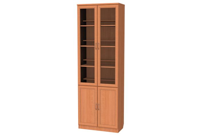Купить книжный шкаф со стеклянными дверцами а-200 в нижнем н.